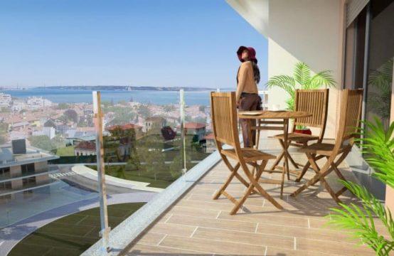 Programme neuf URBAN GARDENS avec terrasses et vue mer sur la Marginal
