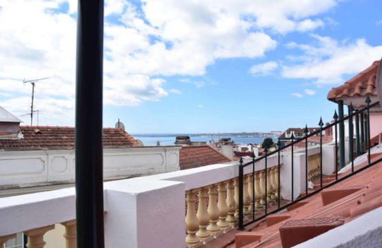 appartement de charme avec terrasse Alfama